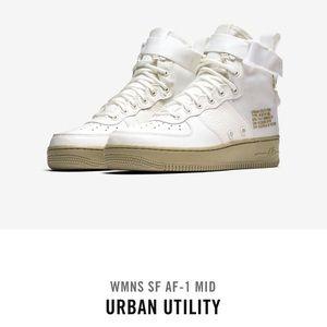 Nike Women's Air Force 1 Urban Utility Sneakers